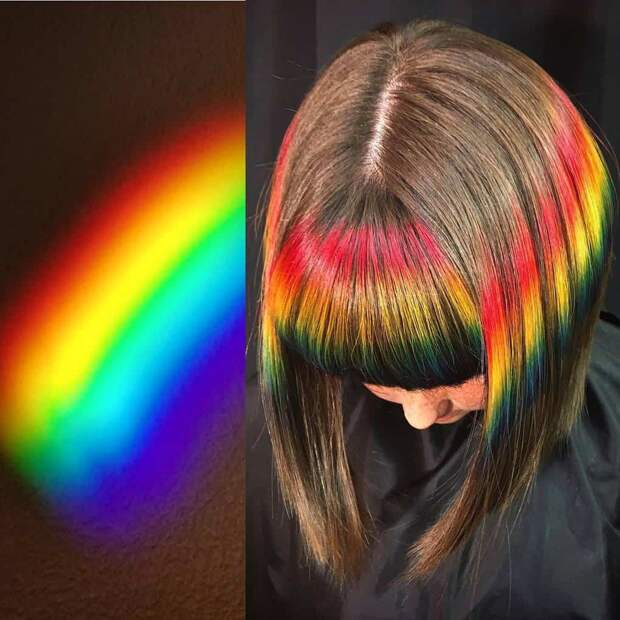 Стилист черпает вдохновение в природе и создаёт невероятно яркие причёски, которые приведут вас в восторг