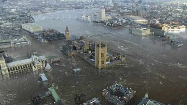 Британские учёные пугают нас новым всемирным потопом в обозримом будущем