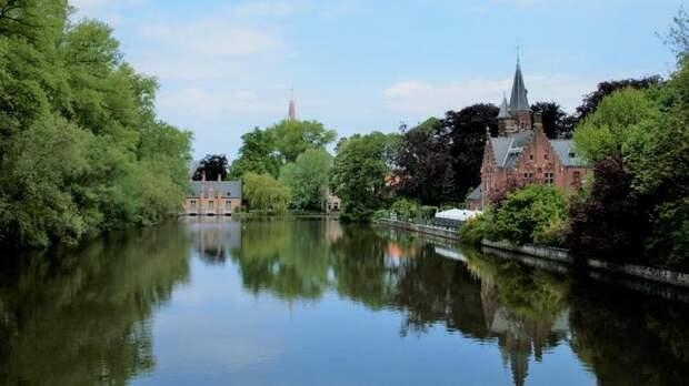 Озеро любви - природная достопримечательность Брюгге