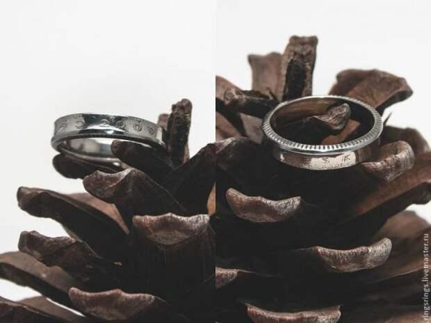 Как сделать кольцо из монеты своими руками