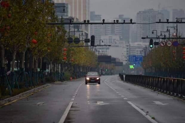 6 мрачных фото пустого Уханя. Напоминает фильмы об апокалипсисе