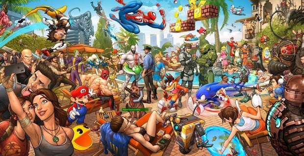 100 лучших игры по мнению журнала PC GAMER на текущий момент
