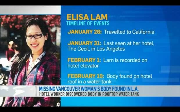 Жуткие истории: загадочное исчезновение Элизы Лам