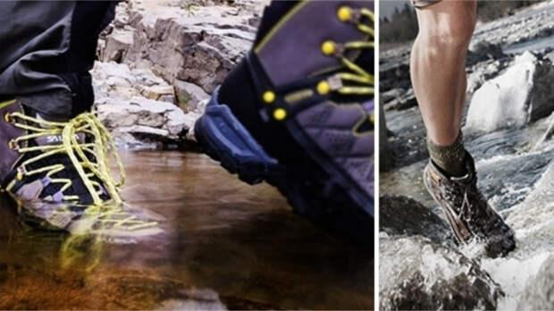 Под обувь с мембраной ГОР-ТЕКС - только носки из смешанного материала! / Фото: f.ua