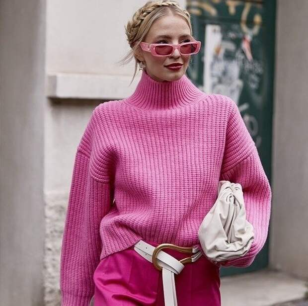 Как носить вещи с гольф-воротником, который является отличной альтернативой шарфам