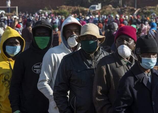 В Африке от коронавируса вылечились более 2 млн человек