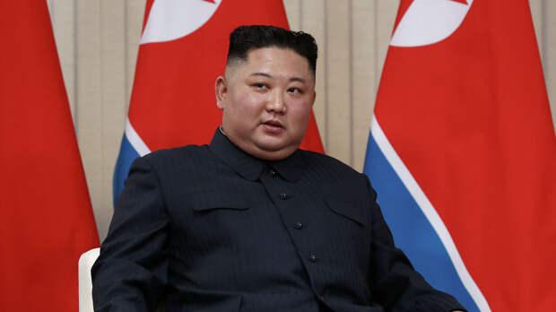 Председатель Госсовета Корейской Народно-Демократической Республики Ким Чен Ын - РИА Новости, 1920, 05.09.2020