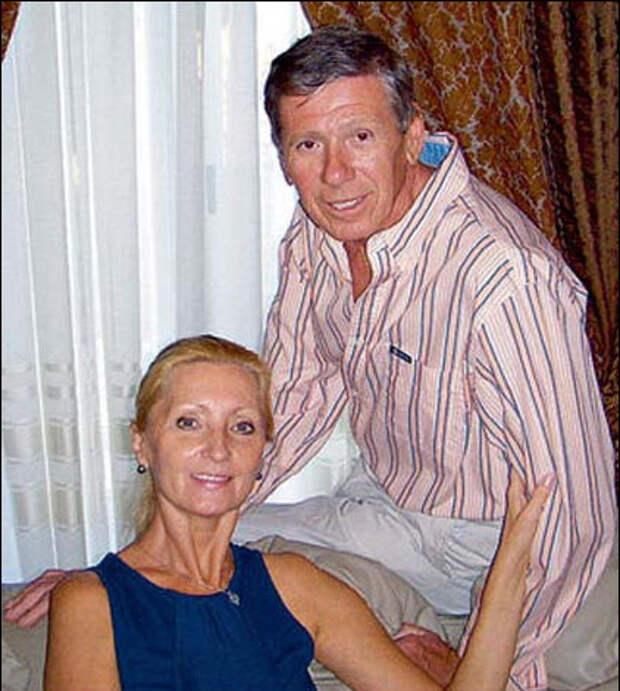 Виктор с женой Светланой во Флориде