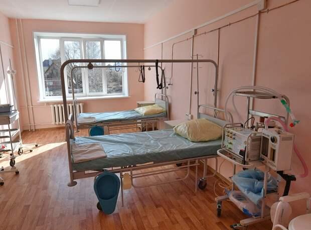 В больницах Удмуртии занято чуть больше 10% коек, выделенных для ковид-больных