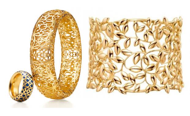 Кольцо и браслеты от Паломы Пикассо.