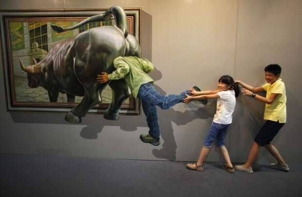 Выставка 3D-живописи