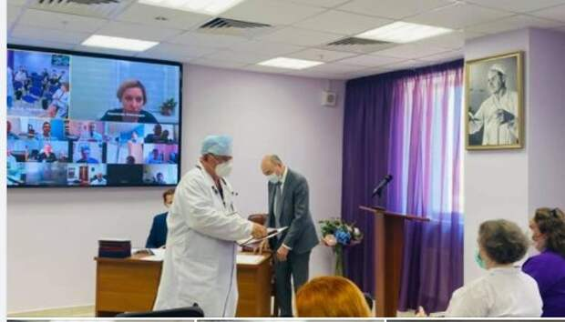 Сердечно-сосудистый хирург из Щукина удостоен медали