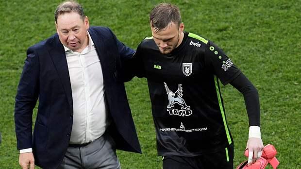 «Могли закрыться со «Спартаком», но Слуцкий против оборонительного футбола». Интервью гендиректора «Рубина»