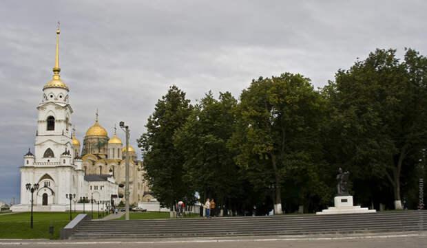 Vladimir – town of the Golden Ring. Photoreport