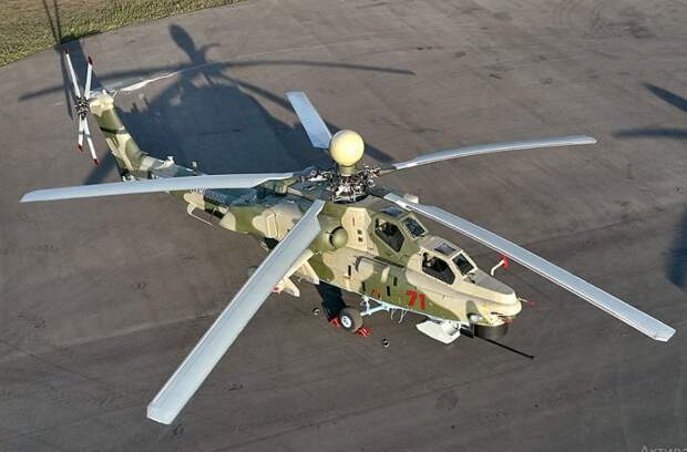 Ударный вертолет Ми-28НМ реальная угроза для истребителей пятого поколения