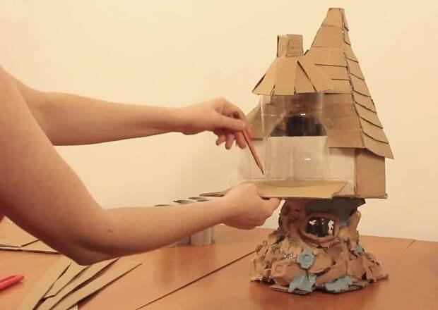 Это будет еще одна комнатка! инструкция, светильник, светильник своими руками, своими руками, сделай сам, хенд-мейд, хендмейд, хендмейд-мастер