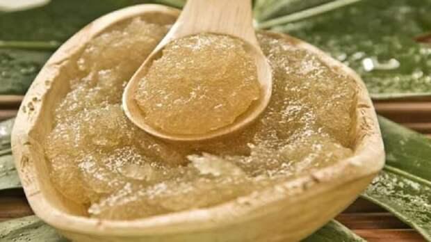 Оливковое масло и сахар