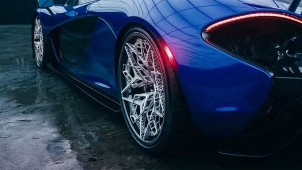 Титановые колесные диски апечатанные на 3D-принтере: страшный сон автомойщика 3D печать, 3d принтер, mclaren, авто, автомобили, колесный диск, колесо, технологии