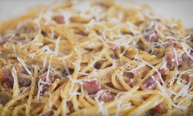 Паста карбонара по рецепту Джейми Оливера: едим по две тарелки