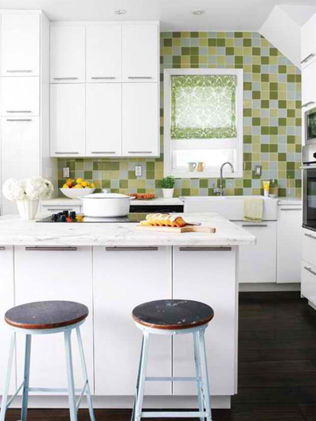 Дизайн маленькой кухни: обеденный стол - 05 - Портал Домашний