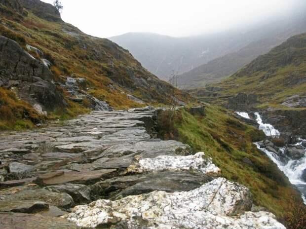 самая высокая гора великобритании фото