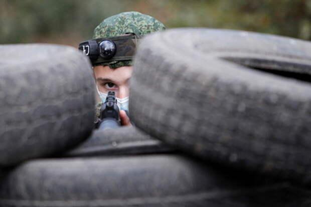Народная милиция ЛНР произвела ответный огонь по позициям вооруженных сил Украины