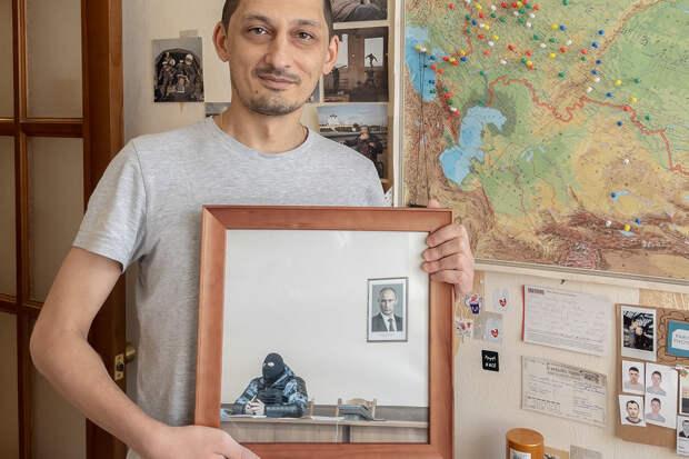 Фотографию Дмитрия Маркова из ОВД продали за 2 млн рублей