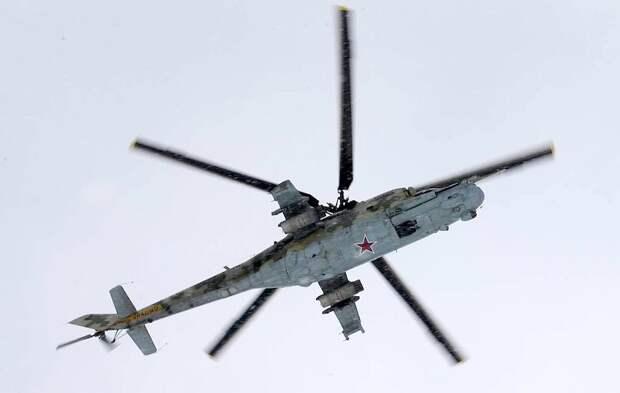 Российский Ми-24 сбили в Армении у границы с Азербайджаном