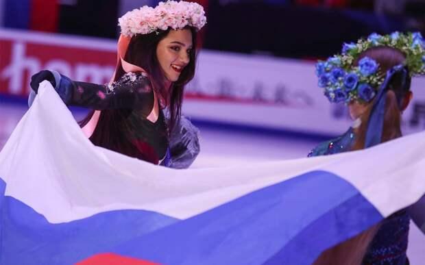 Медведева: «Российские фигуристы — самые лучшие в мире. Надеюсь, все пьедесталы будут наши»