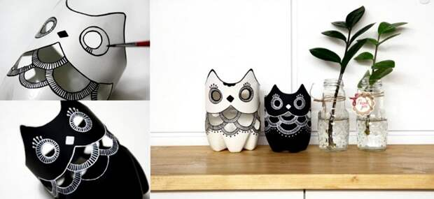 вазы в форме совы