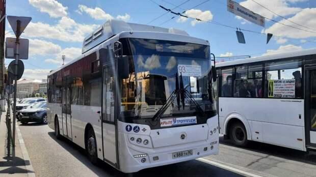 В Симферополе появился новый автобусный маршрут №93