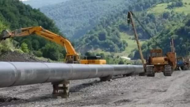 ВЧерноморском районе Крыма будет проложен подземный газопровод