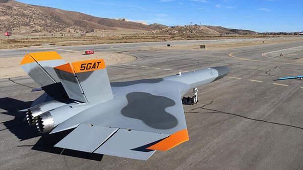 Американская летающая мишень-невидимка разбилась во время испытаний