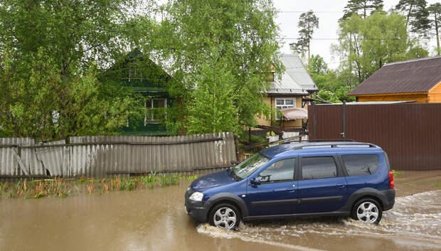 270 приусадебных участков остаются подтопленными в Подмосковье