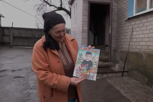 «Посмотри, кого ты убил!» – бабушка погибшего в Донбассе ребёнка обратилась к всушникам