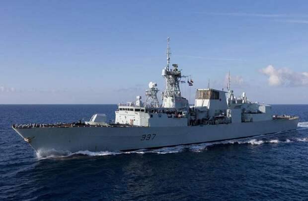 В Чёрное море вошли боевые корабли Второй военно-морской группы НАТО