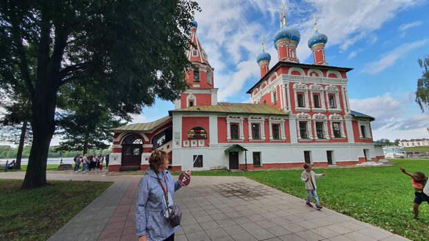Церковь царевича Димитрия на крови. Углич