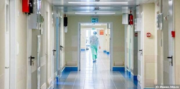 Резервный госпиталь в «Сокольниках» принял первых пациентов с COVID-19. Фото: Ю. Иванко mos.ru