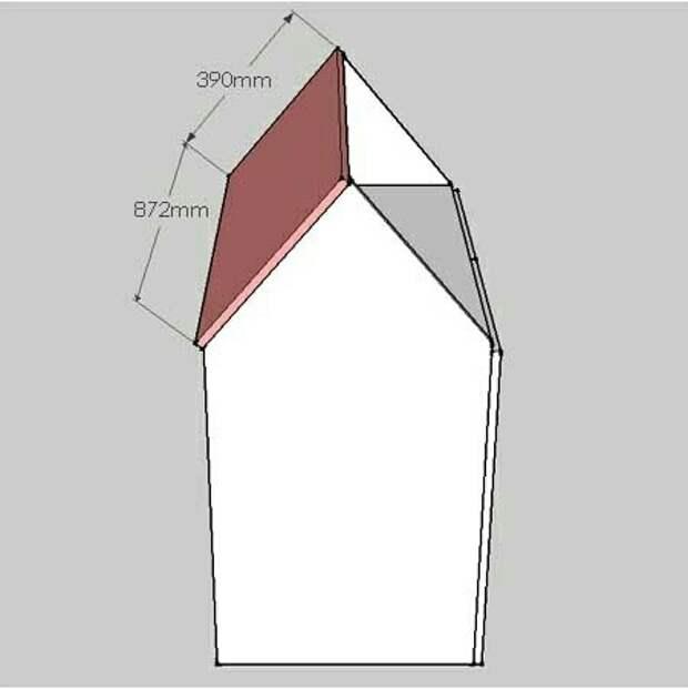Домик - стол с лавками (Diy)
