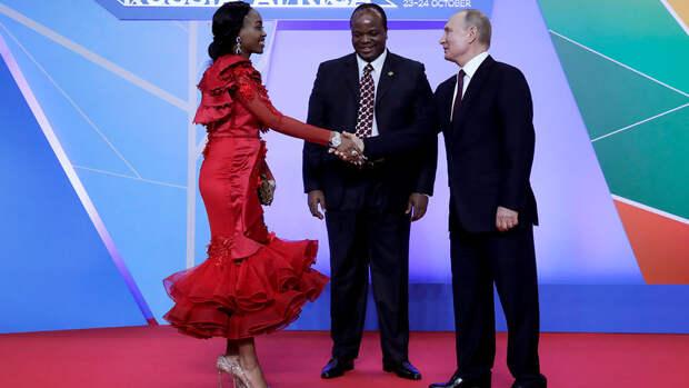 Впечатлить Путина: как выглядели африканские политики в Сочи