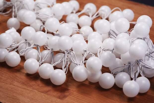 Только посмотрите, какую красоту можно сделать из шариков для настольного тенниса