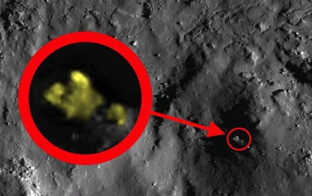Уфолог обнаружил на поверхности Луны «200-метровое строение»