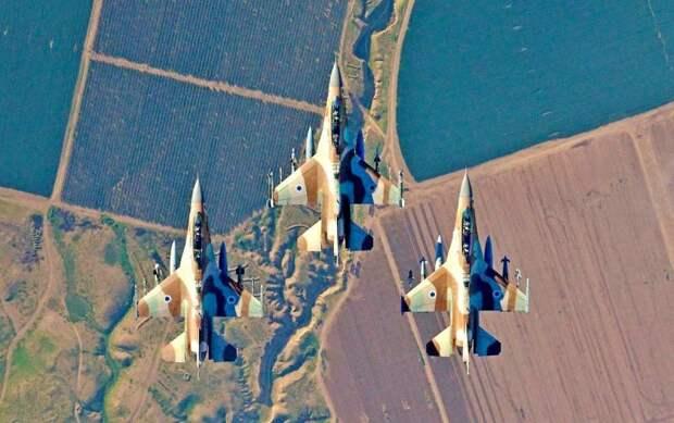 Израиль предпринял массированную атаку на Дейр-эз-Зор