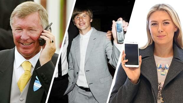 Как менялись телефоны спортсменов от90-х к2019-му: ностальгические фото