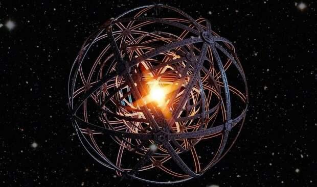 Британский астроном Фримен Дайсон предложил построить искусственную сферу вокруг Солнца величиной в 1 а. е. (астрономическая единица – среднее расстояние от Земли до Солнца. Равняется 149 597 870 700 м). На её поверхности могло бы разместиться количество людей, соизмеримых с расчетами К.Э. Циолковского