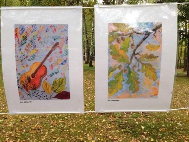 Выставка начинающих художников открылась в парке на Угличской
