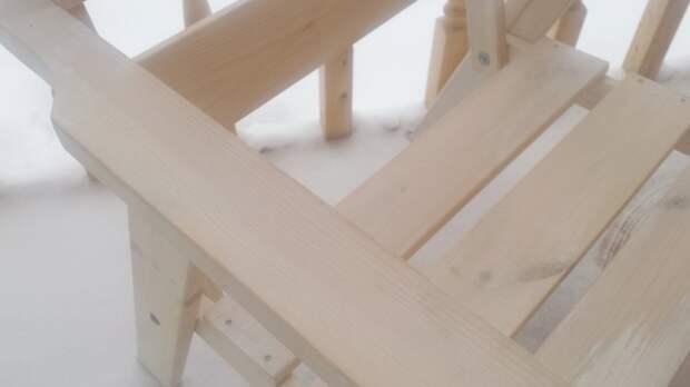 Масло для дерева - мой опыт покраски мебели для веранды