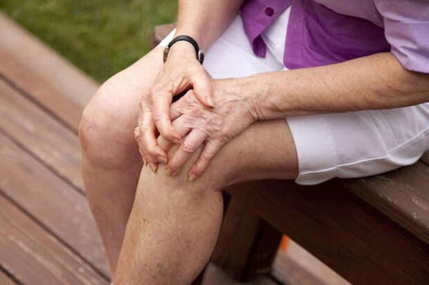 Мощное средство от болей в коленях!