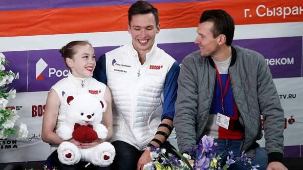 Артемьева и Назарычев выиграли чемпионат России среди юниоров в соревновании пар
