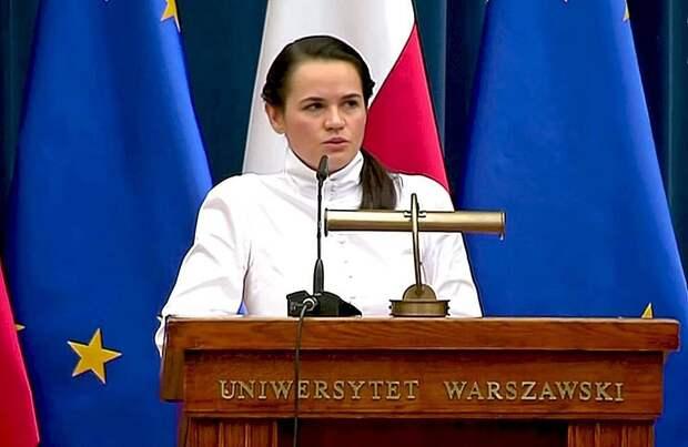 Обращение Тихановской к Путину говорит об истерике в рядах оппозиции